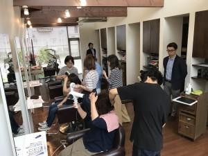 講習会 新潟市西蒲区巻hair of SIESTA シエスタ